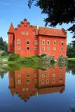 Rotes Schloss Cervena lhota Lizenzfreie Stockfotografie