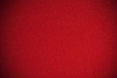 Rotes Segeltuch Stockbild