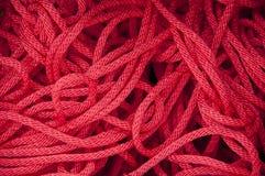 Rotes Seil Lizenzfreie Stockfotografie