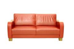 Rotes Sofa Lizenzfreie Stockfotos