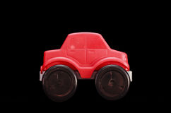 Rotes Spielzeugauto Stockbilder