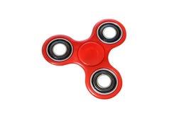 Rotes Spinnerdruckentlastungsspielzeug Stockfoto