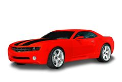 Rotes Sport-Auto lizenzfreies stockbild
