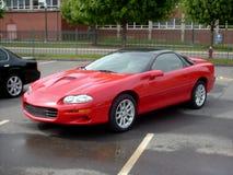 Rotes Sport-Auto Stockbild