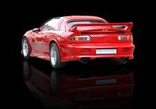 Rotes Sport-Auto Stockfotos