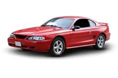 Rotes Sport-Auto Lizenzfreie Stockfotografie