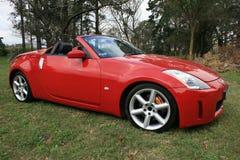 Rotes Sportauto Lizenzfreies Stockfoto