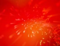 Rotes Spritzen Stockbild