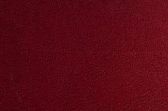 Rotes strukturiertes Leder Stockbild