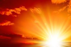 Rotes sunset_98 (8).jpg lizenzfreie stockbilder