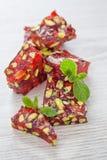Rotes türkisches Bonbons cezerye Lizenzfreie Stockfotos