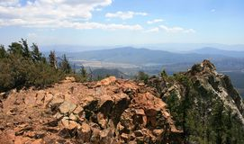 Rotes Tahquitz Gipfel Lizenzfreies Stockfoto