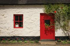 Rotes Tausendstel Avoca Wicklow irland stockfoto