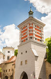 Rotes Tor tower in Augsburg Royalty Free Stock Images