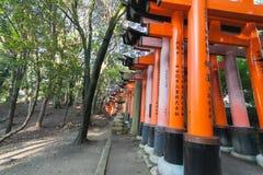 Rotes toroi in Kyoto Lizenzfreie Stockfotografie