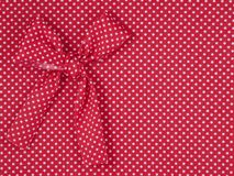 Rotes Trikotgewebe Stockbild
