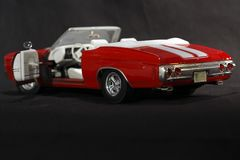 Rotes umwandelbares Sport-Auto Lizenzfreies Stockbild