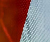 Rotes und weißes Bacground Stockfotografie