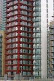 Rotes vorderes Gebäude Stockbilder