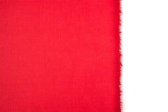 Rotes Weiß der Weihnachtskarte Lizenzfreies Stockbild