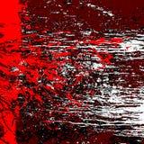 Rotes weißes braunes Schwarzes des Schmutzhintergrundes lokalisiert Stockbilder