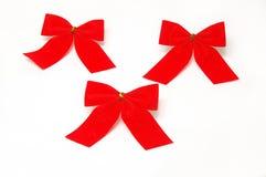 Rotes Weihnachten Stockfoto