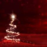 Rotes Weihnachten Stockfotografie