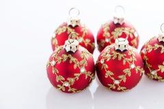 Rotes Weihnachten lizenzfreie stockfotografie