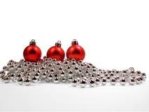 Rotes Weihnachten Lizenzfreie Stockbilder