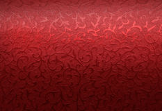 Rotes Weihnachtsbrokatmuster Lizenzfreies Stockfoto