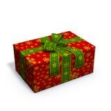 Rotes Weihnachtsgeschenk Lizenzfreie Stockfotografie