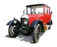 Rotes Weinlese-Auto Stockfotos