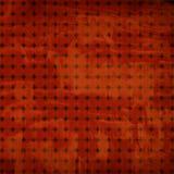Rotes Weinlesemuster stock abbildung