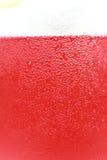 Rotes Zitronensoda Stockbild