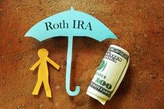 Roth IRA royalty-vrije stock foto's