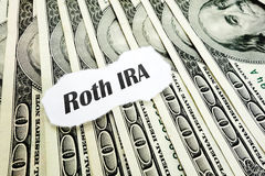 Roth IRA royalty-vrije stock afbeelding
