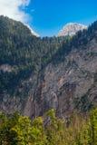 Rothbach è il più alta cascata in Germania Immagini Stock