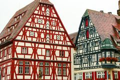 Rotheburg ob der陶伯, 库存图片