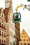 Rotheburg ob dera Tauber, obraz royalty free