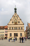rothenburg 免版税库存图片