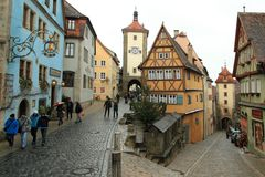 Rothenburg Royalty Free Stock Photography