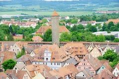 Rothenburg royalty-vrije stock afbeelding