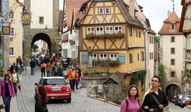 Rothenburg Stockbild