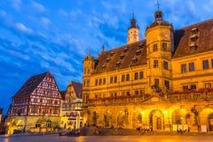 Rothenburg City hall Royalty Free Stock Photography
