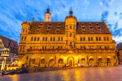 Rothenburg City hall Royalty Free Stock Photos