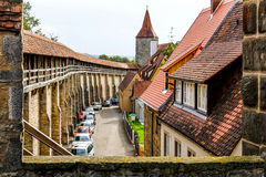 Rothenburg Deutschland Stockfotografie