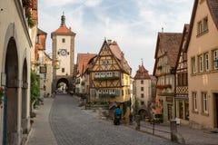 Rothenburg Germania Immagini Stock