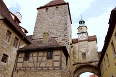 Rothenburg, Germania immagini stock