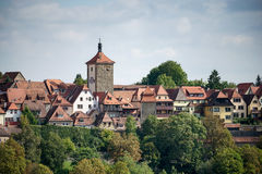 ROTHENBURG, GERMANY/EUROPE - SEPTEMBER 26 : View over the City o Royalty Free Stock Image