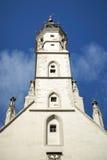 ROTHENBURG, GERMANY/EUROPE - 26 SEPTEMBRE : Vieille tour d'horloge dans R photos libres de droits